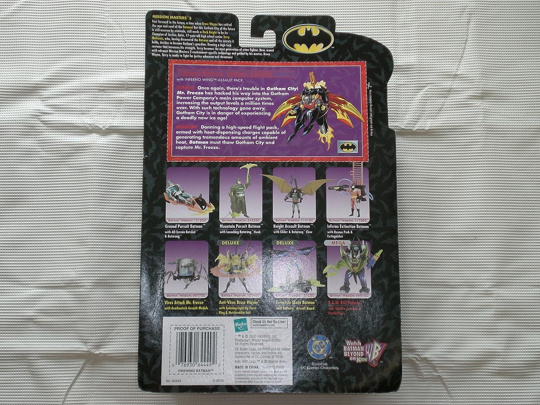 Batman Mission Masters 3 Batman Beyond Firewing Batman Hasbro