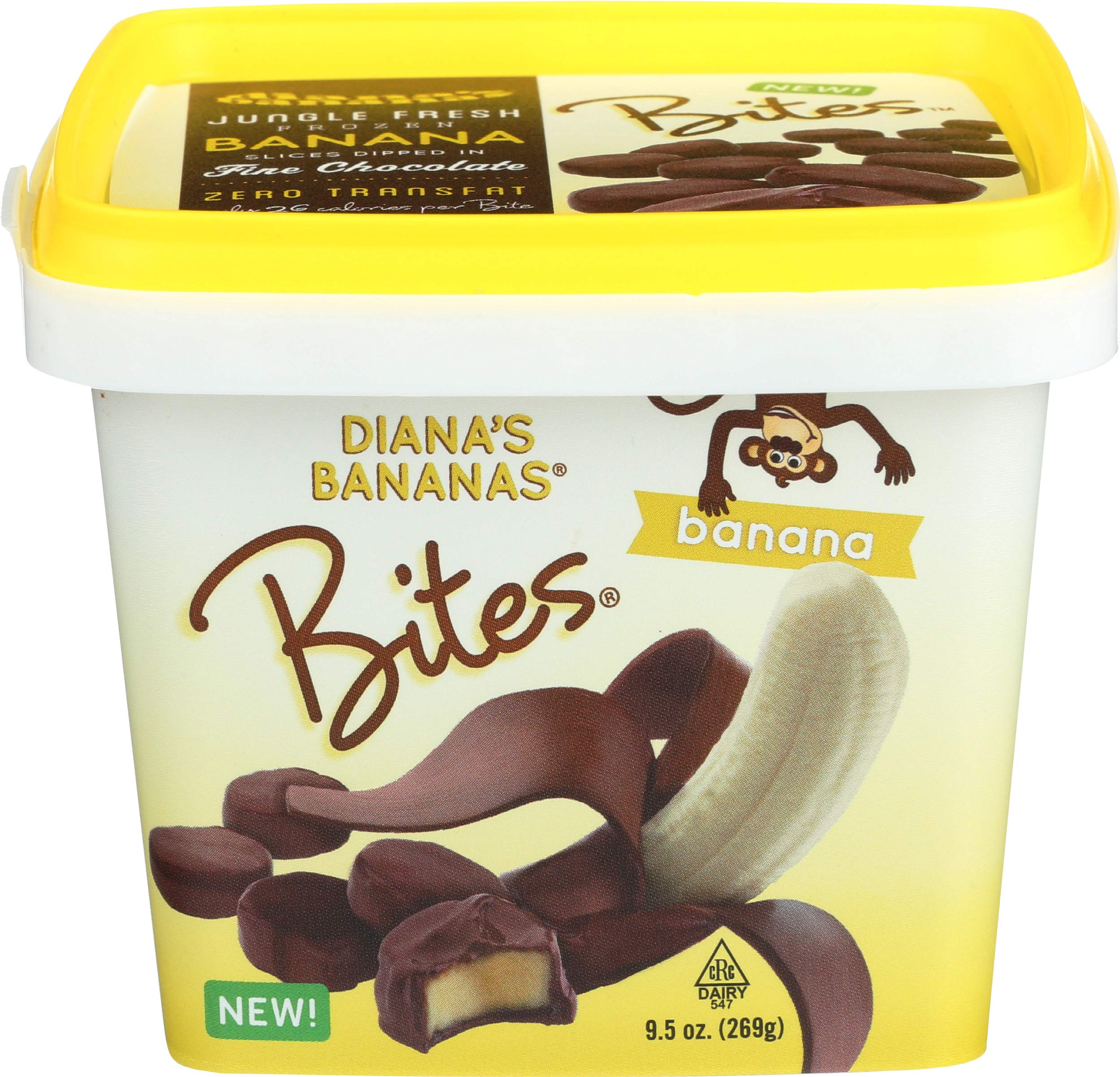 Dianas Bananas, Gluten Free Banana Bites 9.5 Oz, Pack Of 12 by DIANA'S BANANAS