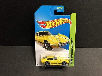 Amazon.com: Toyota 2000 GT (yellow) 2014 Hot Wheels HW ...