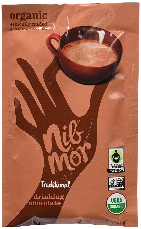 Amazon.com : NibMor Organic Drinking Chocolate, Original, 1.05 ...