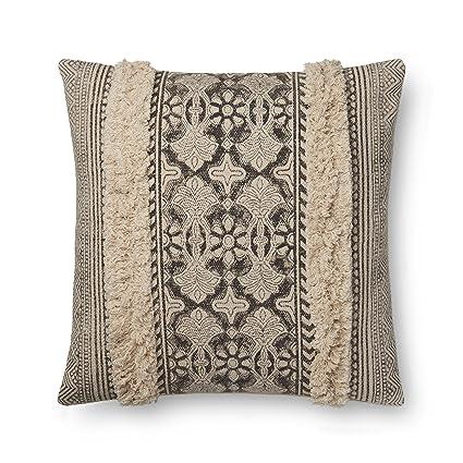 Amazon.com: Loloi, relleno – marfil funda de almohada, de ...