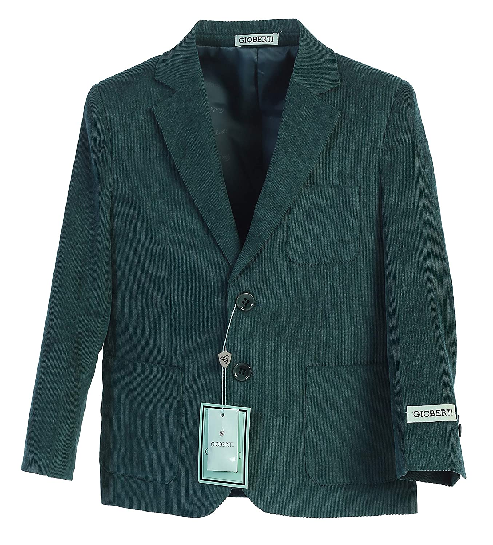 Gioberti Boys and Kids Corduroy Blazer Jacket