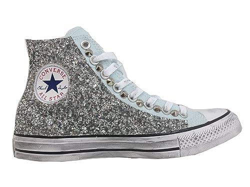 glitter per scarpe converse