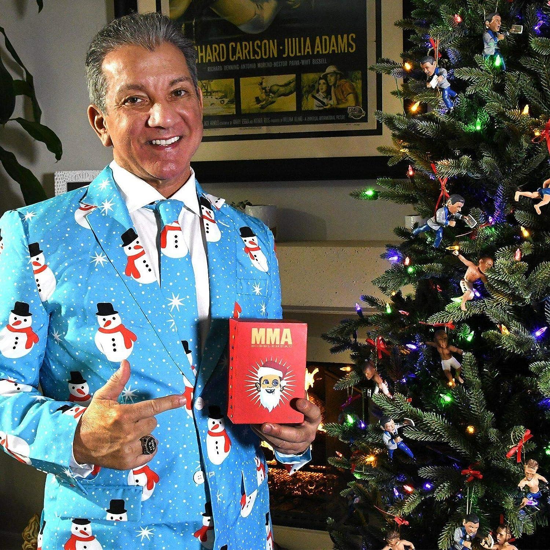 Christmas Ornament T-City-Exclusive MMABobblehead.com Brian Ortega