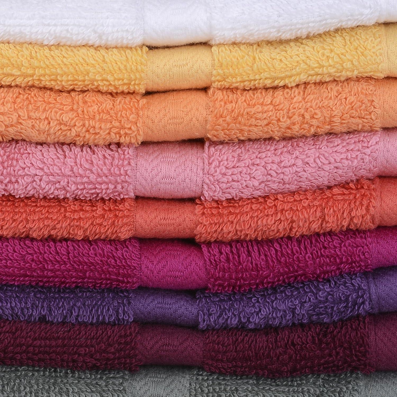 multicolore 100/% cotone vandenhove biancheria di casa Guanti da bagno 100/% cotone fabbricazione Belga alto di gamma colori e Designs assortiti Lotto mix/é Confezione da 2