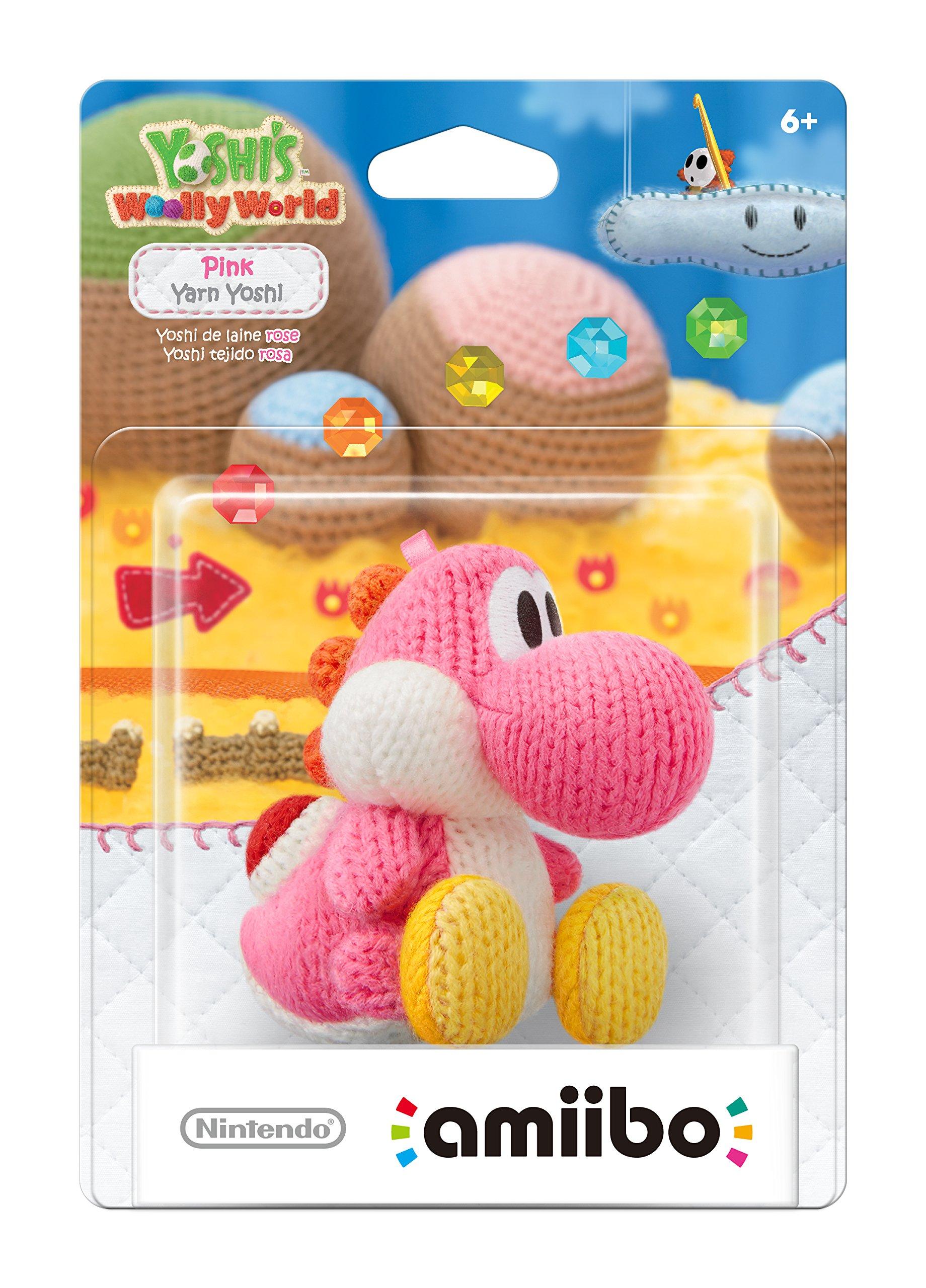 Pink Yarn Yoshi Amiibo (Yoshi's Woolly World Series) by Nintendo (Image #2)