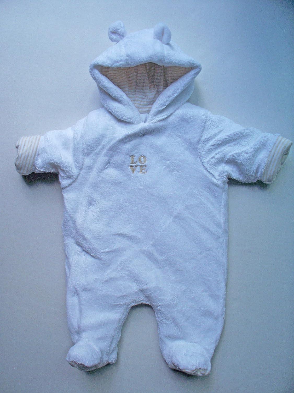 fcc856b037dd Mothercare baby boys girls pramsuit snowsuit (3-6 MONTHS)  Amazon.co ...
