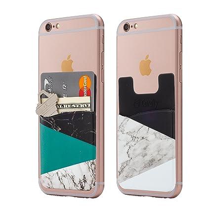 Amazon.com: (Two) mármol teléfono celular pegar en la ...