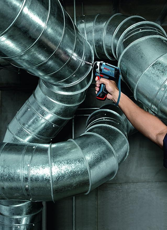 Bosch GDR 12V-105 - Atornillador de impacto (Litio-Ion polímero, 12 V) Negro, Azul: Amazon.es: Bricolaje y herramientas