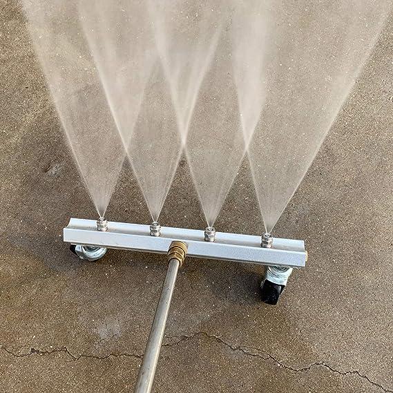 Deck Sweep Auffahrt Mingle Hochdruckreiniger Wasser Besen 4000 PSI,MEHRWEG/ 33 cm Power Waschmaschine Reiniger Gehweg