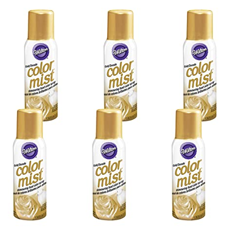 Amazon.com: Wilton Gold Color Mist Shimmering Food Color ...