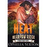 Heat: A Bear Shifter + BBW Paranormal Romance (Bearpaw Ridge Firefighters Book 1)