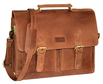NEW BAGS Aktentasche Lehrertasche Damen Herren Businesstasche Messenger Bag NEU