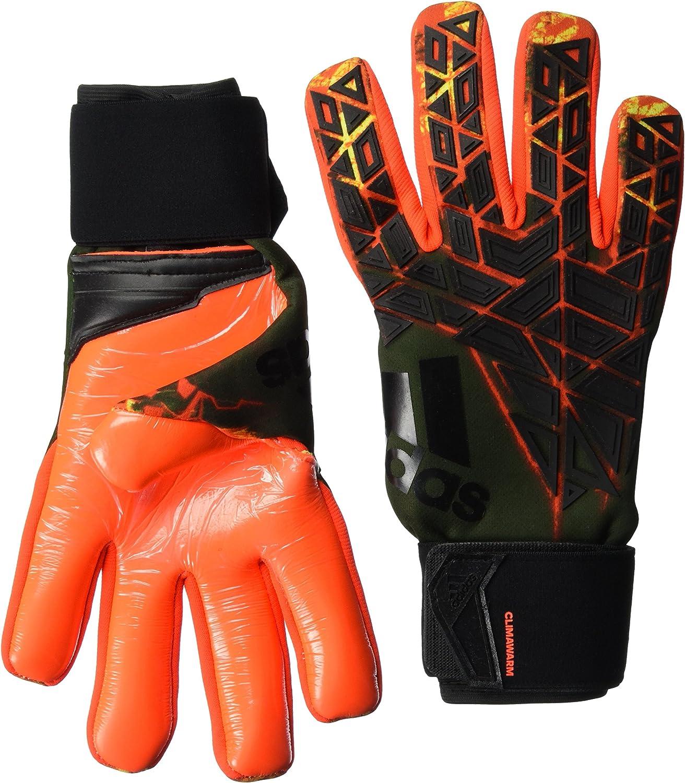 lavabo capital vecino  adidas Men's Trans Ace Climawarm Goalkeeper Gloves, Men, ACE Trans Climawarm,  Lava Orange S10-R/Core Black/Solar Red: Amazon.co.uk: Clothing