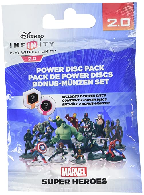 7 opinioni per Infinity 2 Marvel Power Discs Pack