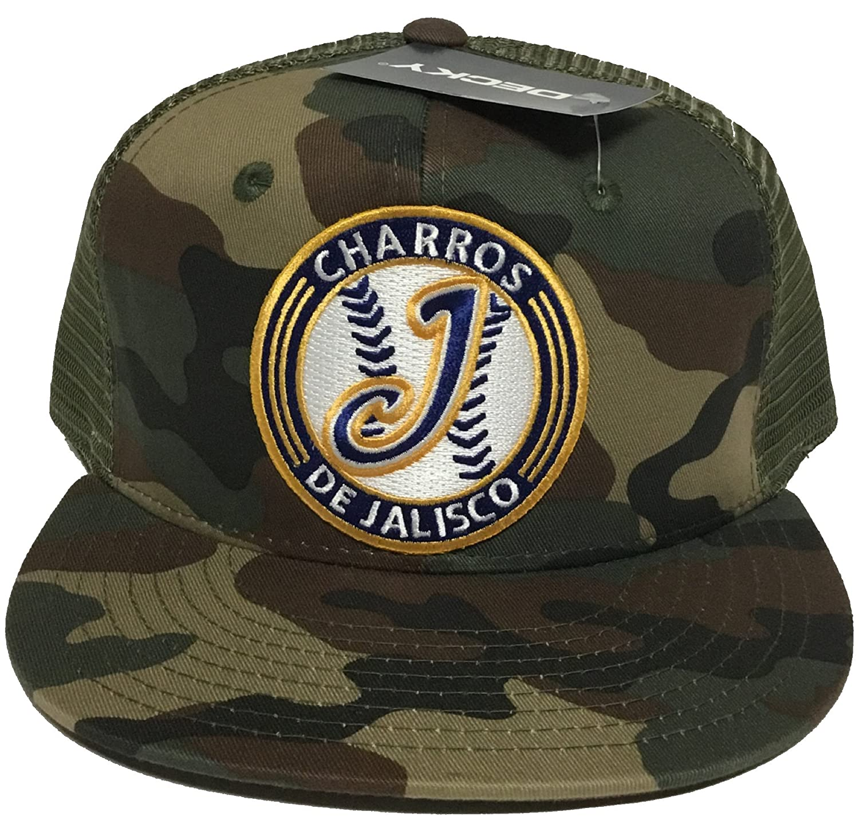 91d55f27 Sports Mem, Cards & Fan Shop CHARROS DE JALISCO MEXICO HAT MESH TRUCKER  COLOR BLACK SNAP BACK NEW HAT