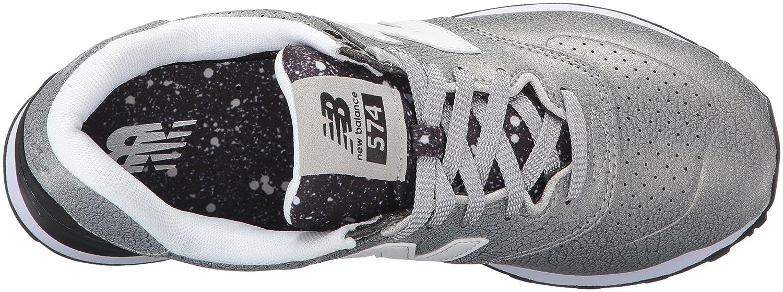 Balance New Chaussures silverblack Course De Femme 574 Argent prwFrqxd