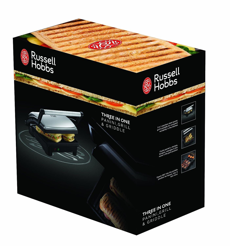 Russell hobbs glass panini press - Russell Hobbs Glass Panini Press 6