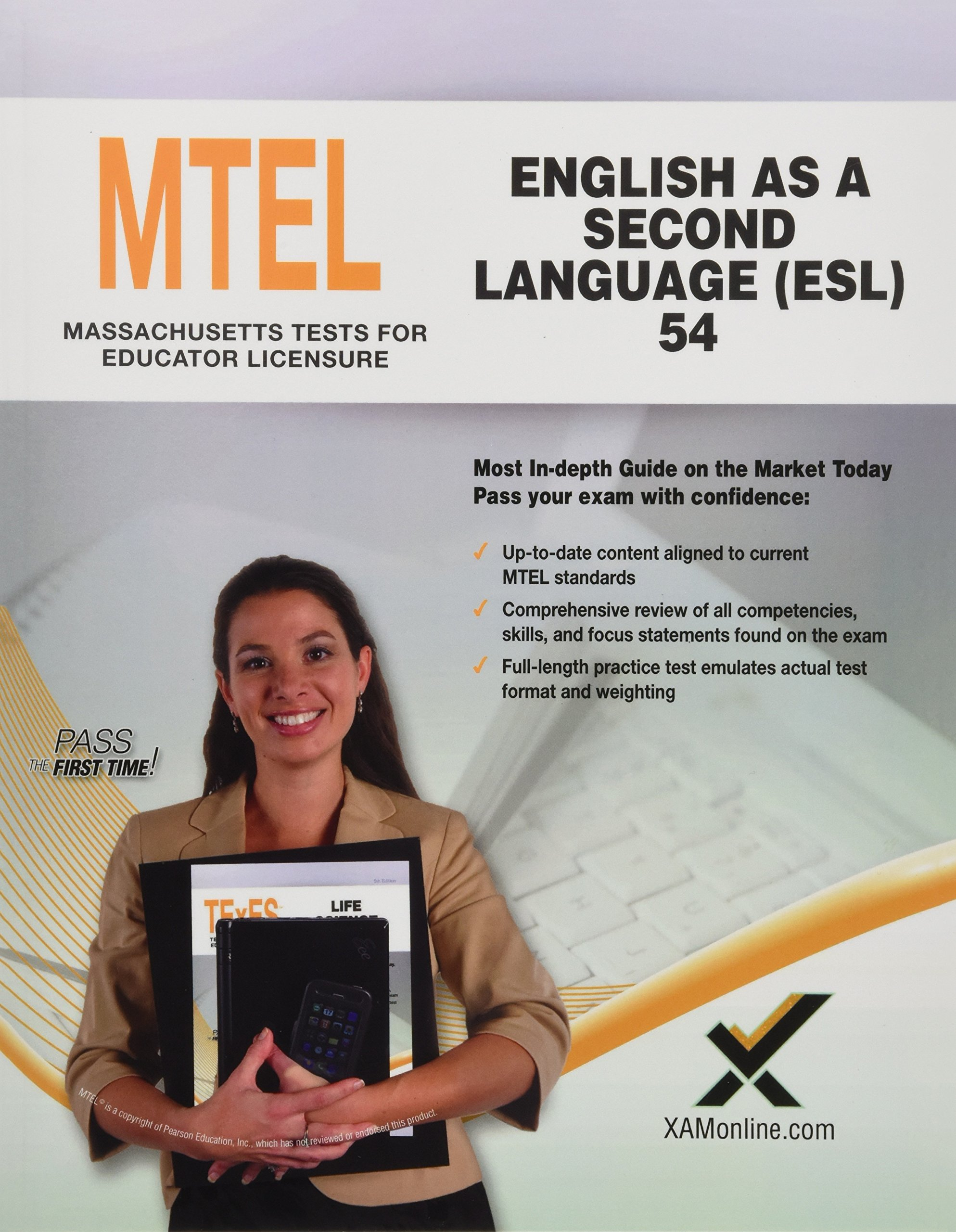 2017 MTEL English as a Second Language (ESL) (54) (MTEL Teacher Certification Guides (MA)) by XAMOnline