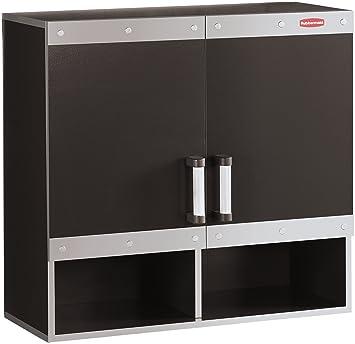 Garage Storage System >> Rubbermaid Fast Track Garage Storage System Wall Cabinet Fg5m1600cslrk