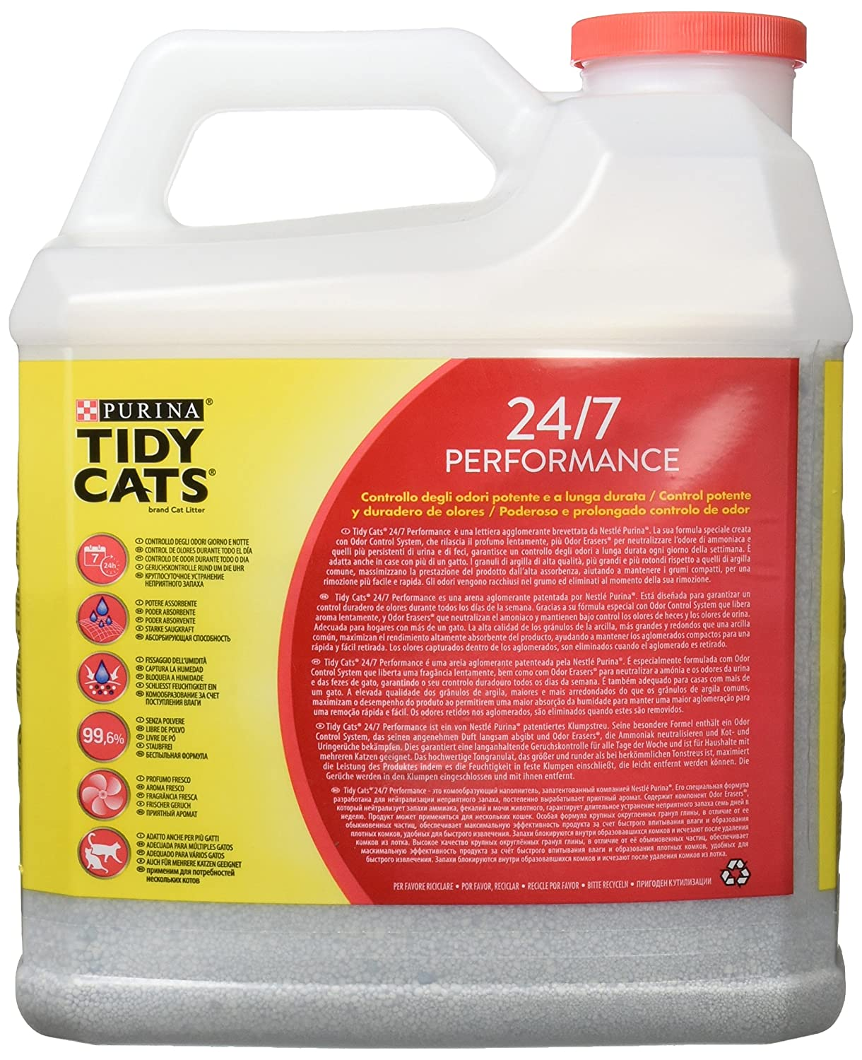 Purina Tydi Cats 24/7 perfumada Arena para gatos 6,35 Kg: Amazon.es: Amazon Pantry