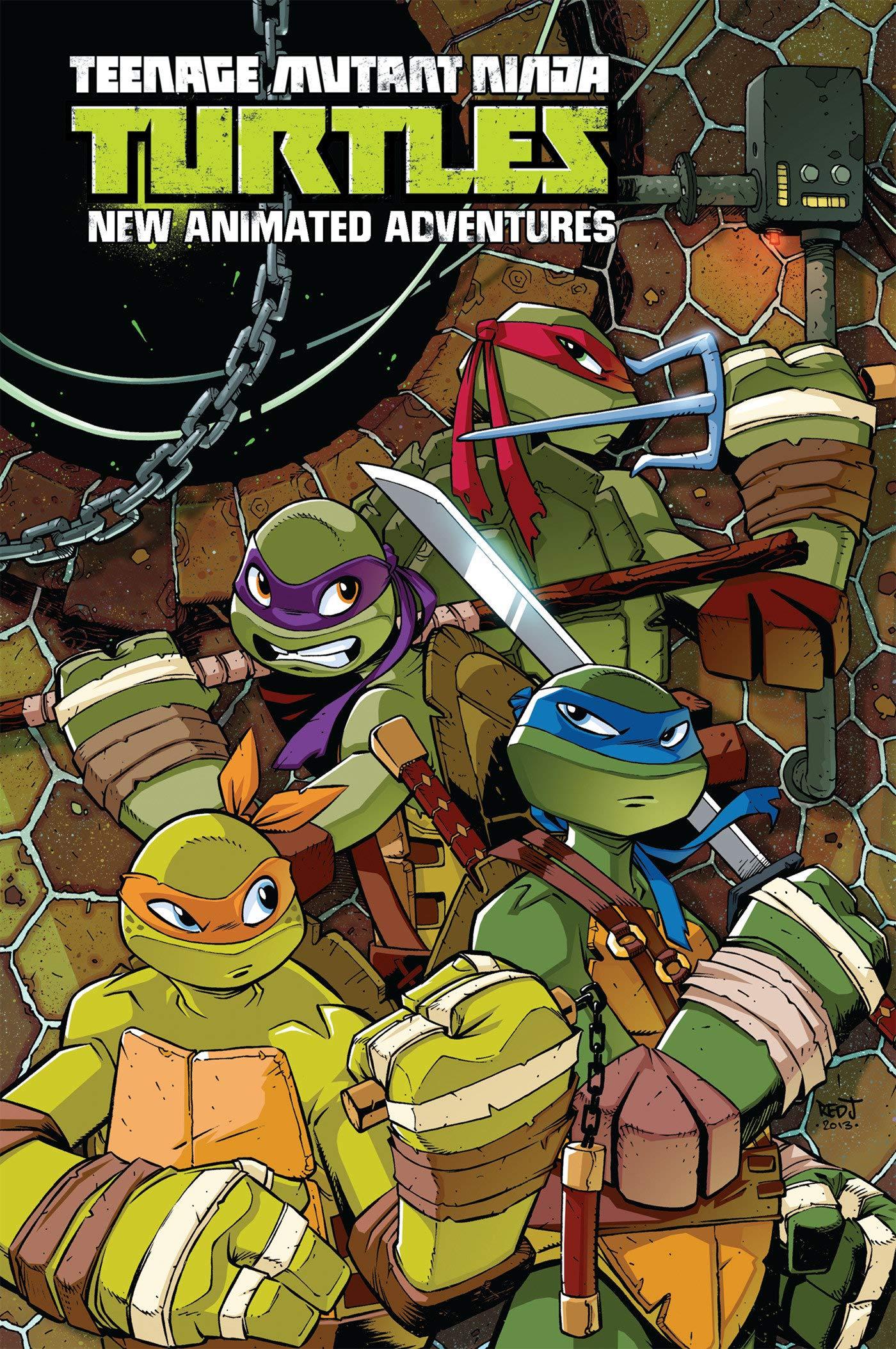 Teenage Mutant Ninja Turtles: New Animated Adventures ...
