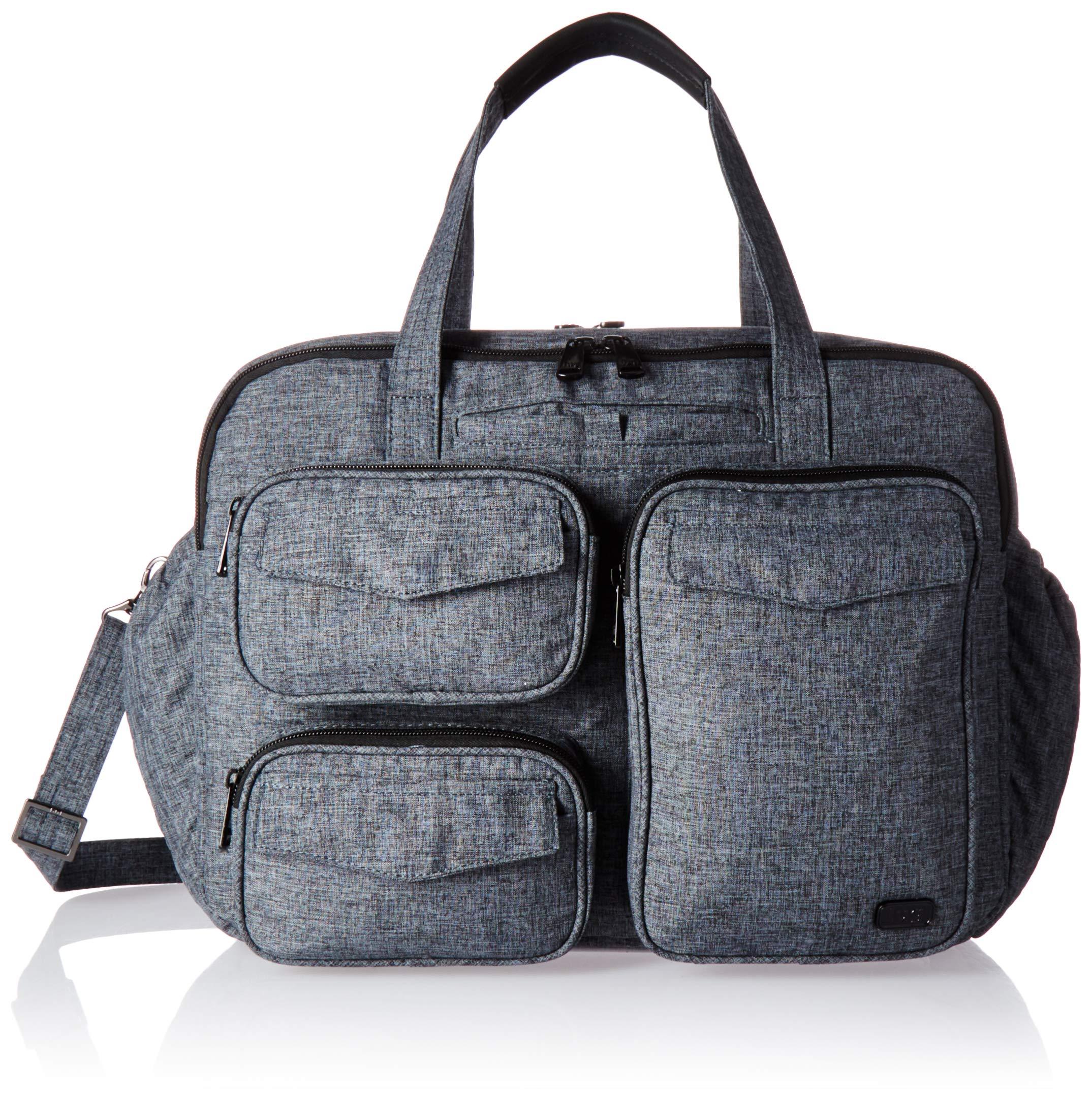 Lug Women's Puddle Jumper Duffel, Heather Grey Bag, One Size