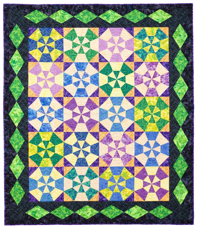 Kaleidoscope Paper Piecing: 10 Dynamic Quilt Designs: Nancy ... : paper piecing quilting - Adamdwight.com