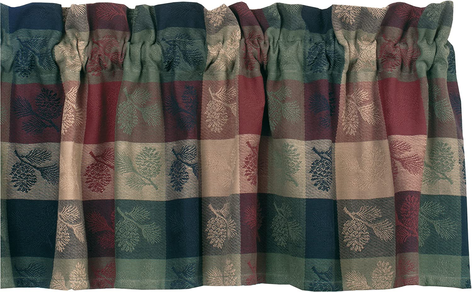 Park Designs Pinecone Valance, 72 by 14""
