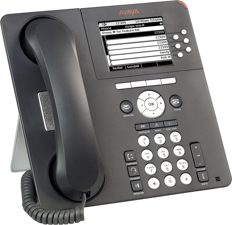 Avaya 700405673/9630/G IP Telefon/-/Anthrazit Grau/-/ Ghekko tellecoms Zertifiziert und General/überholt