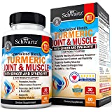 Turmeric Capsules with Ginger & Synergyfit Spice Blend- Supplement for Joint Comfort & Muscle Flexibility- 3-Way Mobility Support- with BioPerine Black Pepper and Curcumin for Improved Absorption