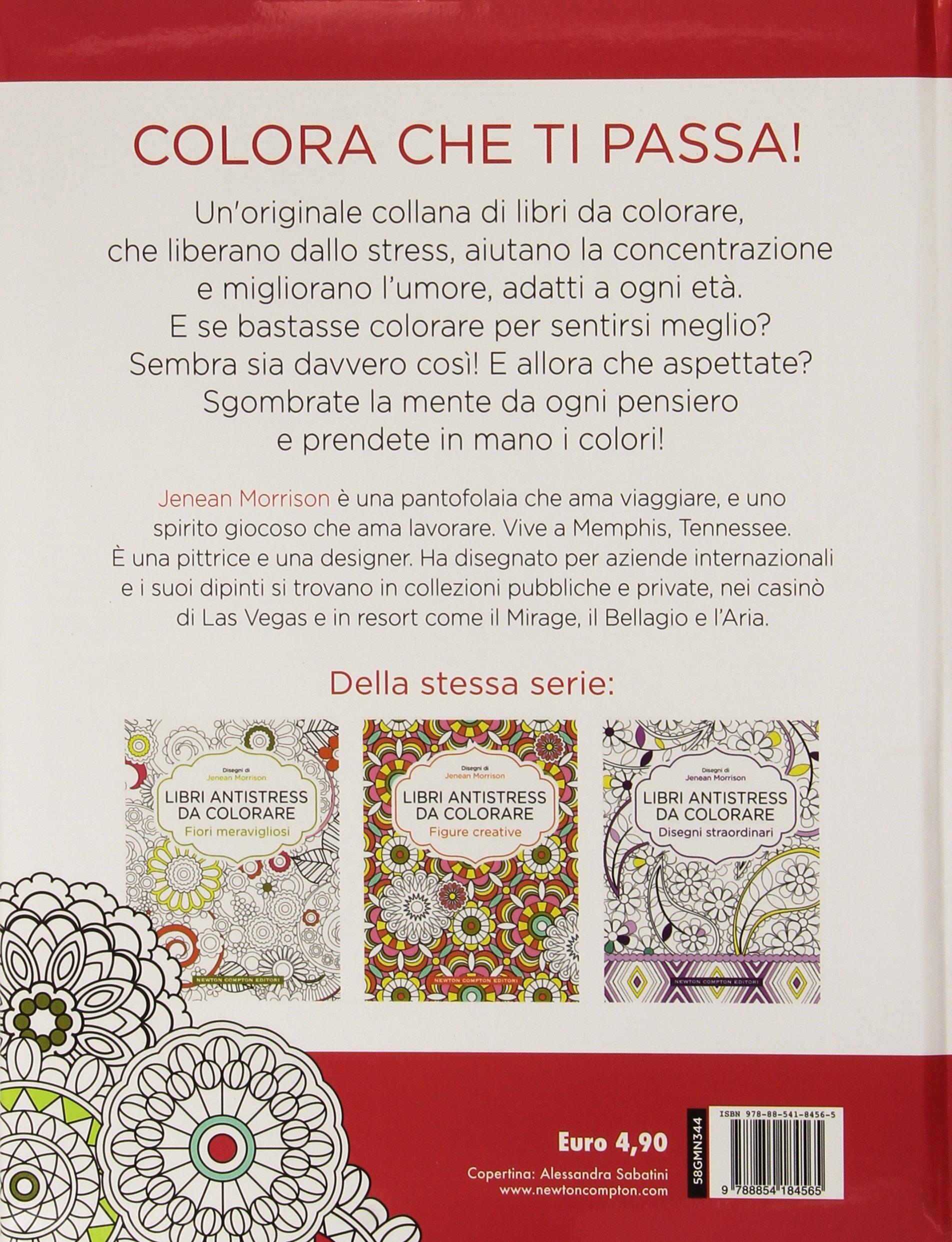 Mandala Prodigiosi Libri Antistress Da Colorare Amazonit Jenean