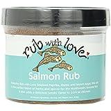 Rub With Love, Salmon Rub, 16 Ounce Tub