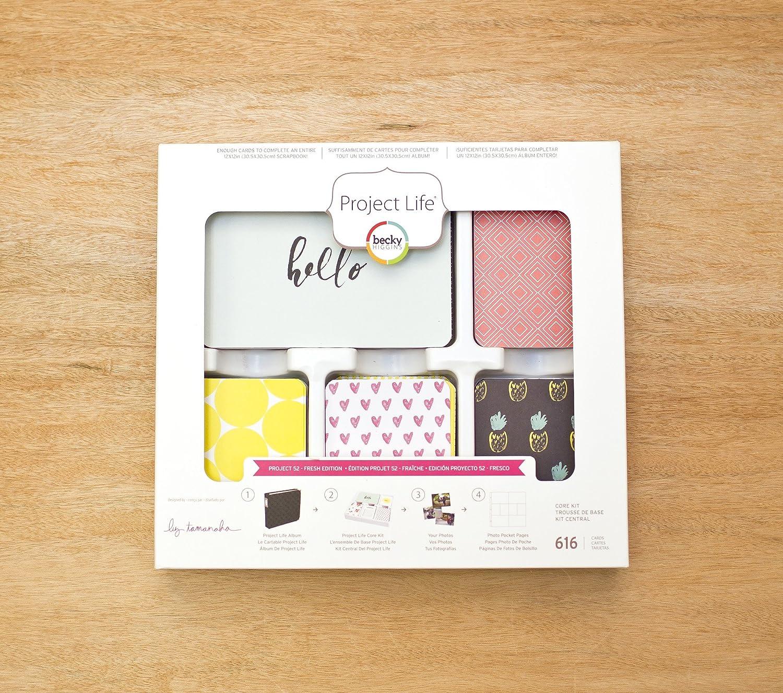Project Life Aqua Edition Core Kit