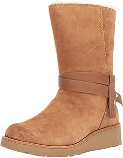 ce1c1577 Amazon.com | UGG Women's, Brita Boots Black 5 M | Snow Boots