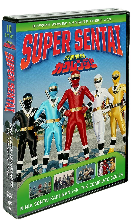 Power Rangers: Ninja Sentai Kakuranger - Comp 10 Dvd ...