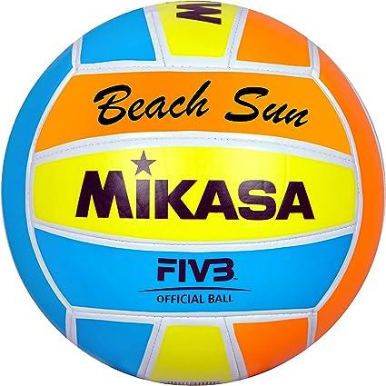 Mikasa 1632 Beach Sun - Pelota para Volley-Playa (tamaño 5 ...