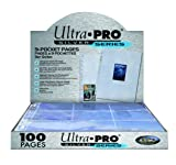 Ultra Pro 9-Pocket Silver Series Page Protector for Standard Size Cards