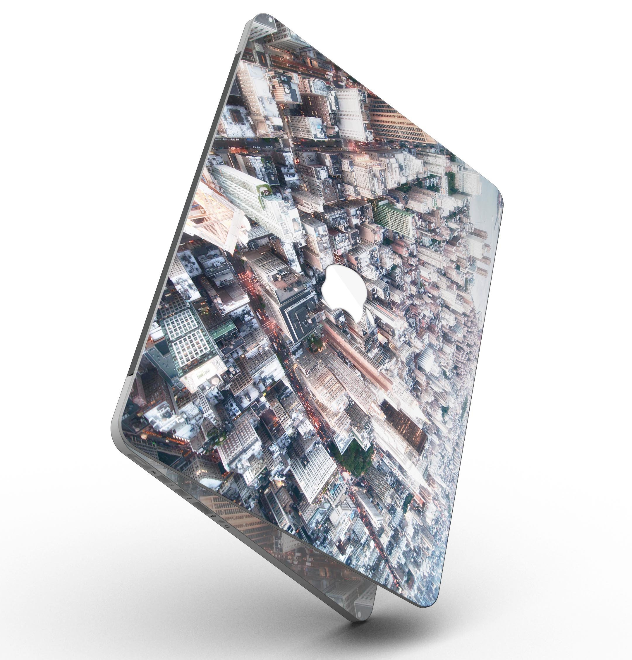 Vintage Aerial Cityscape - MacBook Pro with Retina Display Full-Coverage Skin Kit by iiRov (Image #2)