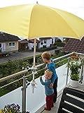 sonnenschirm halterung f r balkon gel nder und zaun sensa balkonhalterung von dacore. Black Bedroom Furniture Sets. Home Design Ideas