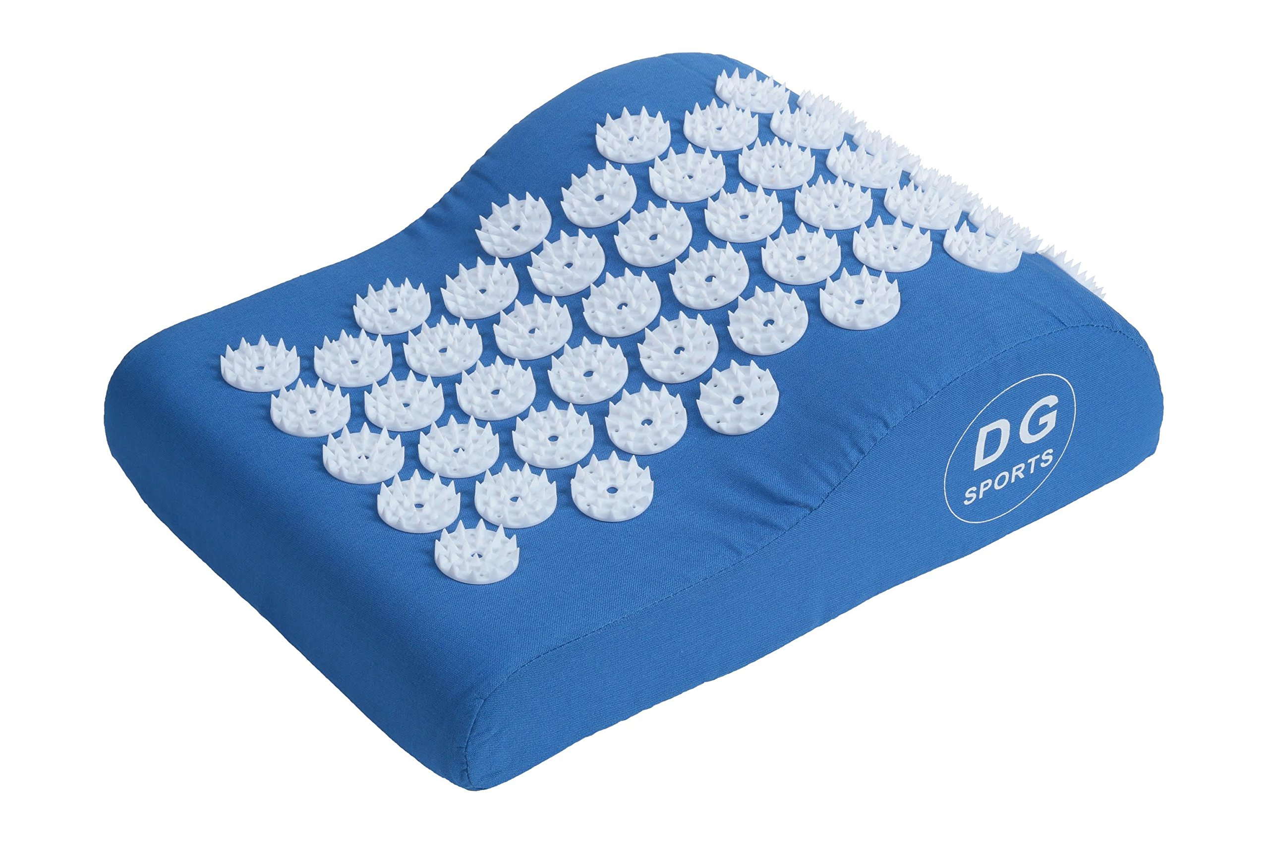 Acupressure Pillow - Blue / Acupuncture Pillow for Neck Pain Relief Treatment