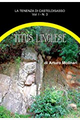 Titus l'inglese (tenenza) (Italian Edition) Kindle Edition