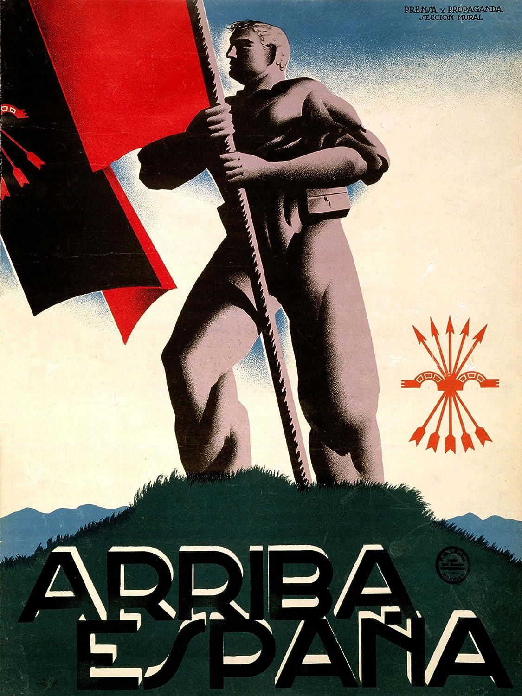 PROPAGANDA WAR SPANISH CIVIL NATIONALIST FASCIST FALANGE ...