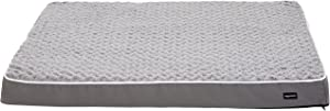 AmazonBasics Ergonomic Foam Pet Bed For Cats or Dogs