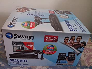 Amazon swann security in a box do it yourself monitoring swann security in a box do it yourself monitoring system with 2 cameras for home solutioingenieria Choice Image