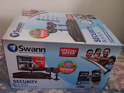 Amazon swann security in a box do it yourself monitoring swann security in a box do it yourself monitoring system with 2 cameras for home solutioingenieria Images