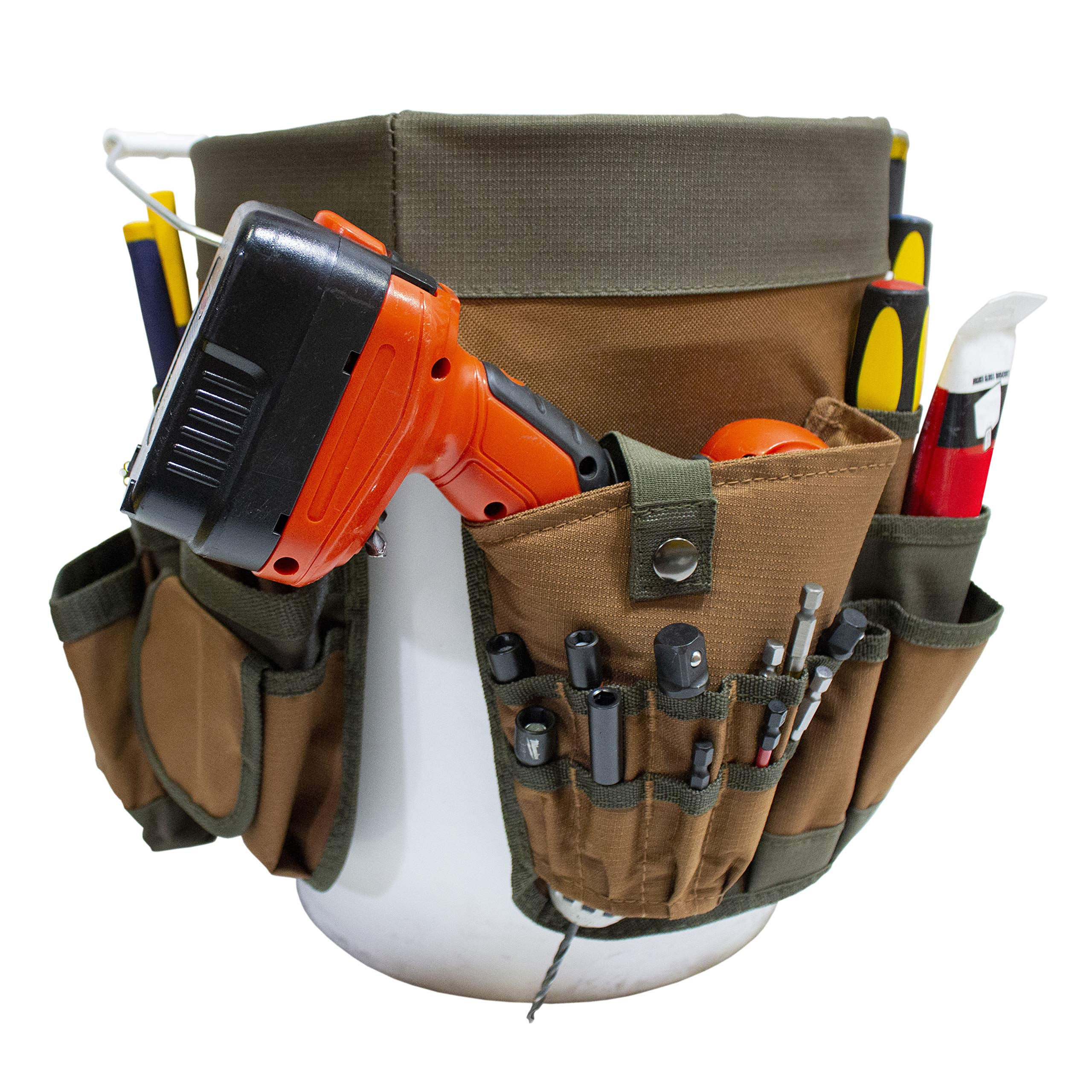 Bucket Boss 56 Bucket Tool Organizer in Brown, 10056 by Bucket Boss (Image #5)