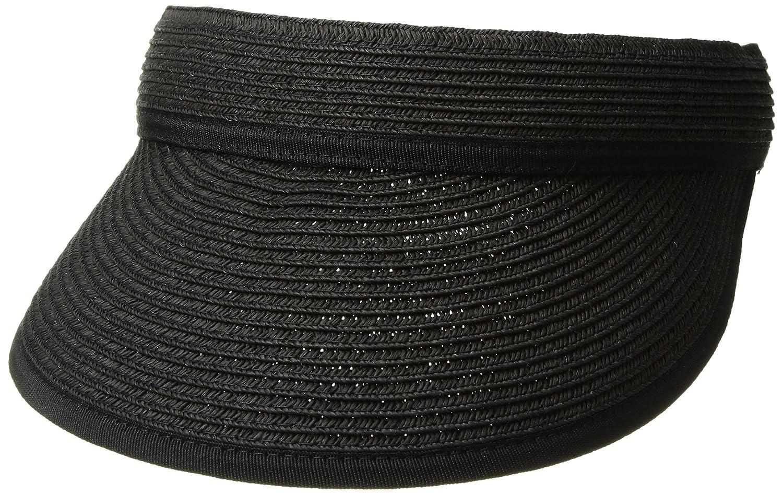 Nine West Women's Packable Visor Hat, Black, One Size N212-001NW.LTS