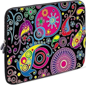 Sidorenko 11,6 Pulgada Funda Laptop para MacBook/Chromebook | Funda para computadora de Neopreno | Funda con Cremallera Duradera Protección de 3 Capas, Resistentes al Agua: Amazon.es: Electrónica
