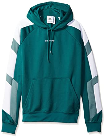 cc3a32e62263 adidas Originals Men s EQT Color Block Hoodie at Amazon Men s ...